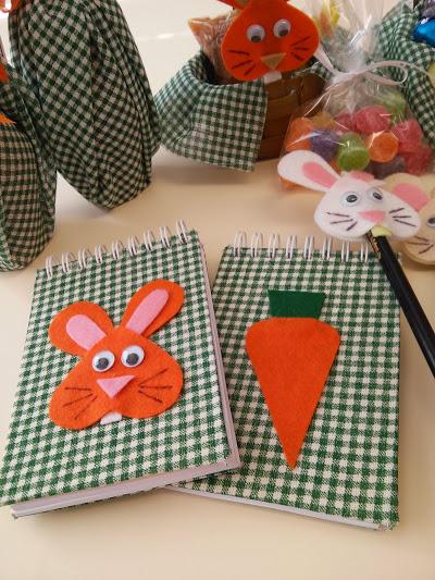 bloquinho de coelho ou cenourinha